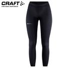 【CRAFT 瑞典 女 Essential壓縮長褲《黑》】1908785/長褲/運動褲/壓縮褲