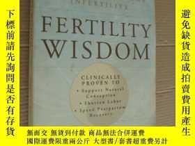 二手書博民逛書店FERTILITY罕見WISDOM:How traditiona