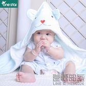 嬰兒抱被秋冬新生兒針織純棉包被寶寶初生用品保暖小被子抱毯包被【萬聖節推薦】