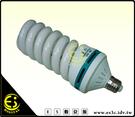 ES數位館 E27燈座專用 色溫5500K 150W 冷光 螺旋型 省電燈泡 標準色溫 陶瓷頭 散熱孔 白光 無頻閃