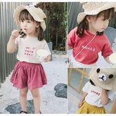 虧本衝量-寶寶短袖t恤3歲夏裝童裝男童女童嬰幼兒刺繡上衣小童體恤 快速出貨