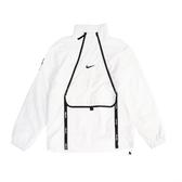 Nike 長袖T恤 Air Top 白 黑 男款 衝鋒衣 防風 運動休閒 【ACS】 CU4119-100