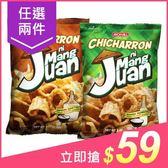 (任2件$59)菲律賓 JACK n JILL MangJuan仿炸豬皮脆片(豌豆點心)90g 款式可選【小三美日】