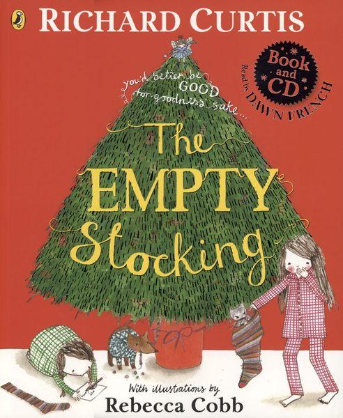 【麥克書店】THE EMPTY STOCKING /英文繪本+CD 《主題: 聖誕節》