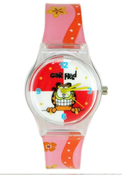 【卡漫城】 加菲貓 膠錶 ~ Garfield 可愛 卡通錶 女錶 兒童錶 手錶 造型錶 台灣製造