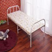 折疊床單人床雙人加固型陪護床鋼絲床辦公室午休床簡易木板床【博雅生活館】