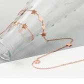 《ZC1412》質感金屬星星項鍊 OrangeBear