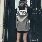時尚潮流健身旅行背包女超火雙肩包旅游大容量休閒輕便書包男 交換禮物