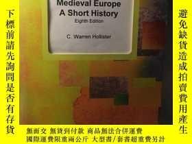 二手書博民逛書店英文原版:Medieval罕見Europe a short history 第八版Y318641 C. War