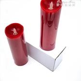 結婚蠟燭婚禮大號喜慶電子蠟燭一對無煙婚房佈置裝飾創意婚慶用品 麥琪精品屋