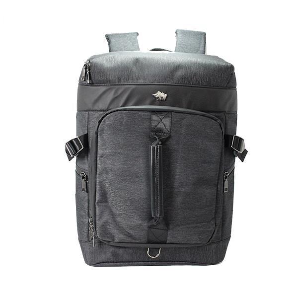 【南紡購物中心】DRAKA 達卡 - 衝鋒者Charge系列-筆電後背包-提把黑