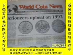 二手書博民逛書店World罕見Coin News(Vol.19,No.2)(Ja