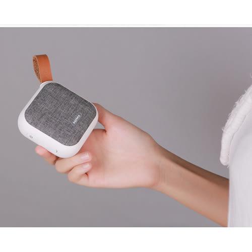 REMAX M15 布藝藍牙音響 小巧便攜 4.1藍牙 支持TF卡 簡約美感 [正版公司貨]
