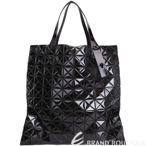 三宅一生BAO BAO ISSEY MIYAKE PLATINUM-2鏡面包(黑色)(10x10) 1510454-01