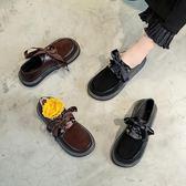 娃娃鞋-韓國原宿日繫軟妹小皮鞋加絨單鞋女學院風百搭厚底娃娃鞋 3c公社