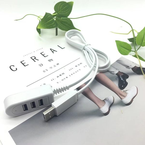 HUB集線器 1.2米一分三USB擴充 USB擴充HUB一拖三分線器