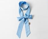 款簡約百搭繡花領帶日系絲巾領帶女