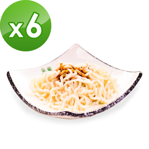 樂活e棧 低卡蒟蒻麵 燕麥拉麵+5醬任選(共6份)