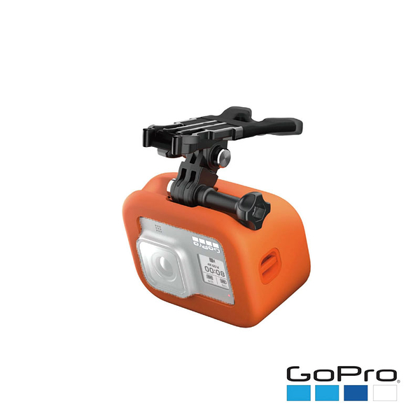黑熊館 GoPro (8C) HERO8 BLACK 口咬式固定座+FLOATY漂浮片 ASLBM-002