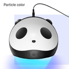 光療機美甲燈led烤燈UV熊貓燈機器雙光源烤指甲USB接口『洛小仙女鞋』