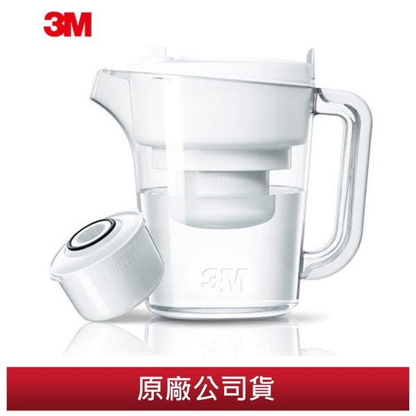 【3M】經典款即淨長效濾水壺 1壺+1濾心(WP3000)
