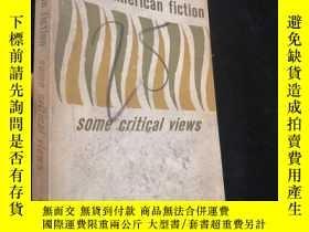 二手書博民逛書店Recent罕見American Fiction - Some