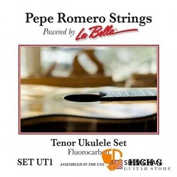Pepe Romero Strings 碳纖維 26吋 烏克麗麗弦 型號: SET UT1【La Bella】