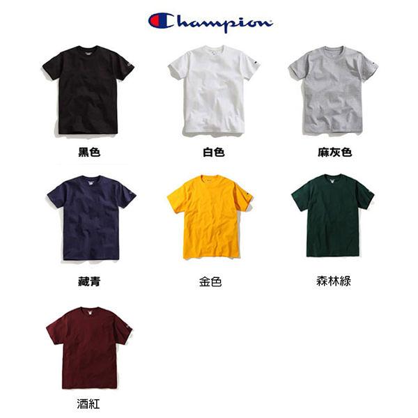 CHAMPION 高磅 百搭 青年版 小logo 短T 七色 (布魯克林) 2019/2月 435-