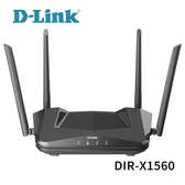 D-Link 友訊 DIR-X1560 AX1500 WiFi 6 雙頻無線路由器