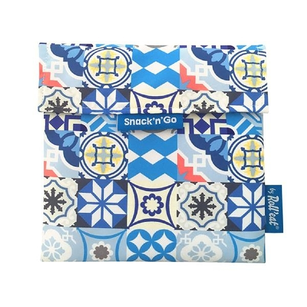 吃貨零食袋/拼布藍【Roll'eat西班牙食物袋】