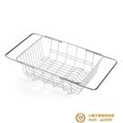 洗碗池水槽瀝水架晾碗筷收納放伸縮廚房碗碟碗架盤【小獅子】