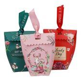 結婚用品喜糖盒子創意婚慶糖盒喜糖袋中式喜糖禮盒婚禮喜糖盒第七公社