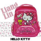 【Hello Kitty】 雙層EVA護脊書包/小學生後背書包406653