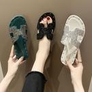 仙女拖鞋 拖鞋女夏季韓版時尚外穿學生網紅鞋子社會女鞋女士涼拖防滑沙灘鞋
