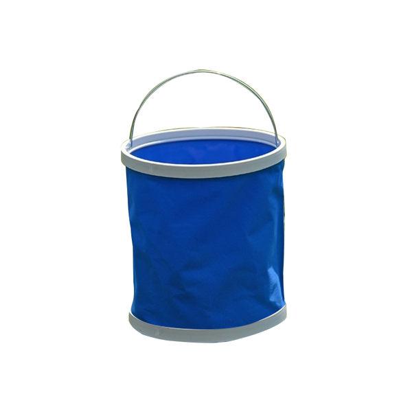 [7-11限今日299免運]野餐 露營 11L可摺疊水桶 摺疊水桶 置物桶 收納✿mina百貨✿【G0046】