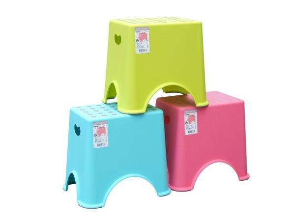 【好市吉居家生活】嚴選聯府KEYWAY~RC-114 小圓點止滑椅 板凳 塑膠椅 兒童椅