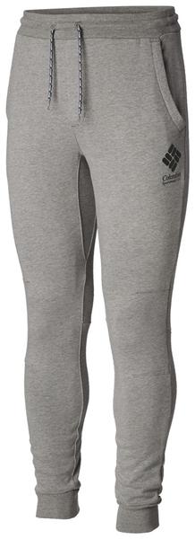 【Columbia】男款UPF53棉質長褲-灰