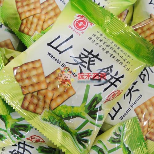日香-山葵餅-300g【0216零食團購】G143-0.5