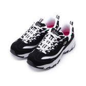 SKECHERS DLITES 綁帶運動鞋 黑白 11930BKW 女鞋