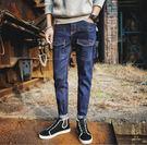 找到自己品牌 時尚潮流 日系 男 多口袋...
