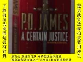 二手書博民逛書店英文原版罕見A Certain Justice by P.D.