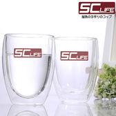 SC life 雙層玻璃杯