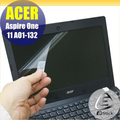 【Ezstick】ACER Aspire One 11 AO1-132 靜電式筆電LCD液晶螢幕貼 (可選鏡面或霧面)