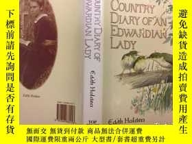 二手書博民逛書店The罕見Country Diary of an Edwardi
