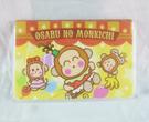 【震撼精品百貨】OSARUNOMONKICHI_淘氣猴~票夾-咖【共1款】