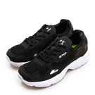LIKA夢 ARNOR 輕量時尚復古慢跑鞋 精彩潮流老爹鞋系列 黑白 92000 女