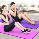 拉力器 腳蹬拉力神器減肥瘦肚子仰臥起坐輔助女健身瑜伽器材家用普拉提繩【快速出貨八折搶購】