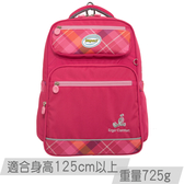 《新品》【IMPACT】怡寶輕量護脊書包-英倫格紋系列-桃紅 IM00367FC