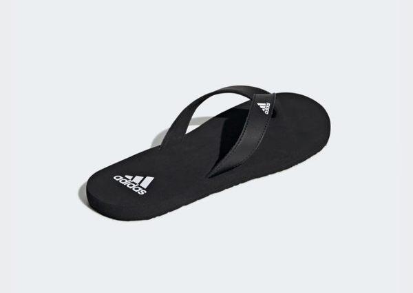 Adidas EEZAY FLIP-FLOPS 男女款黑色涼拖鞋-NO.F35029