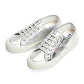 【SUPERGA】 義大利時尚帆布鞋Classic 2750-PLUS COTMETW 3公分內增高款